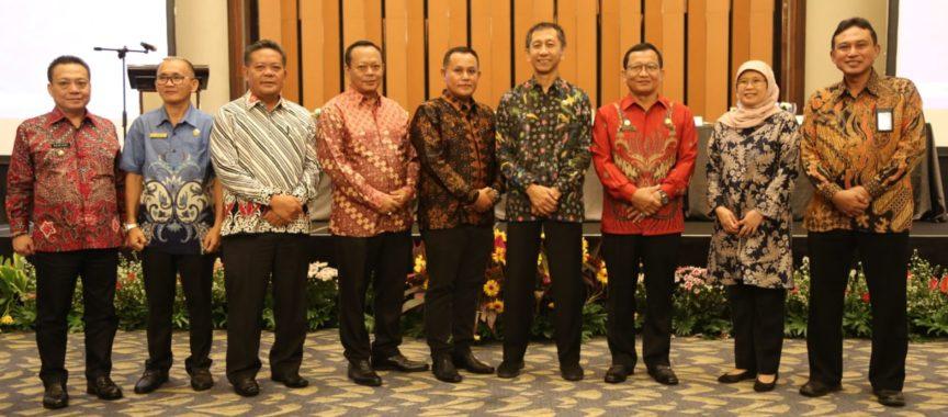 Bupati Nanang Hadiri Rakor Paparan RDTR Perkotaan