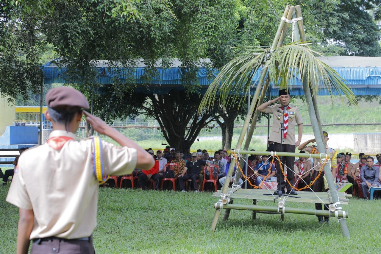 RAS Hadiri Pelantikan Pengurus SAKA Pariwisata Kabupaten Way Kanan