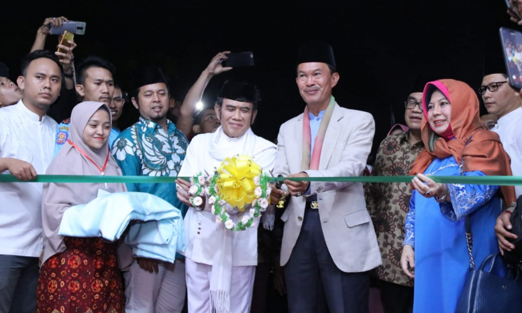 Rhoma Irama Terharu Dengan Program Walikota Pada Pembukaan MTQ Tingkat Kota Palembang